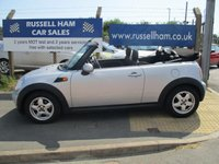 """USED 2009 09 MINI CONVERTIBLE 1.6 COOPER 2d 120 BHP 5 Stamps Of service History .New MOT & Full Service Done on purchase . Also Included """""""" 2 YEARS FREE MOT & FULL SERVICE'S """""""" 3 Months Russell Ham Quality Warranty . All Car's Are HPI Clear . Finance Arranged - Credit Card's Accepted . for more cars www.russellham.co.uk  - Spare Key-Book Pack."""