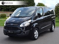 USED 2016 16 FORD TRANSIT CUSTOM 2.2 270 LIMITED LR P/V 1d 124 BHP AIR CONDITIONING  PLY LINED CHOICE OF VANS