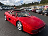 USED 1999 T FERRARI F355 GTS TARGA F1 Coupe Red, Cream leather, removable GTS Targa roof. Detailed service record