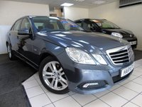 2010 MERCEDES-BENZ E CLASS 2.1 E250 CDI BLUEEFFICIENCY AVANTGARDE 4d AUTO 204 BHP £10495.00