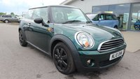 2010 MINI HATCH ONE 1.6 ONE 3d 98 BHP £5595.00