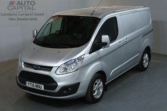 2015 FORD TRANSIT CUSTOM 2.2 270 LIMITED 124 BHP L1 H1 SWB LOW ROOF AIR CON £9390.00