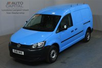 USED 2011 61 VOLKSWAGEN CADDY MAXI 1.6 C20 TDI AUTO AIR CON PARKING SENSORS REAR PARKING SENSORS, REAR SHELVES FITTED