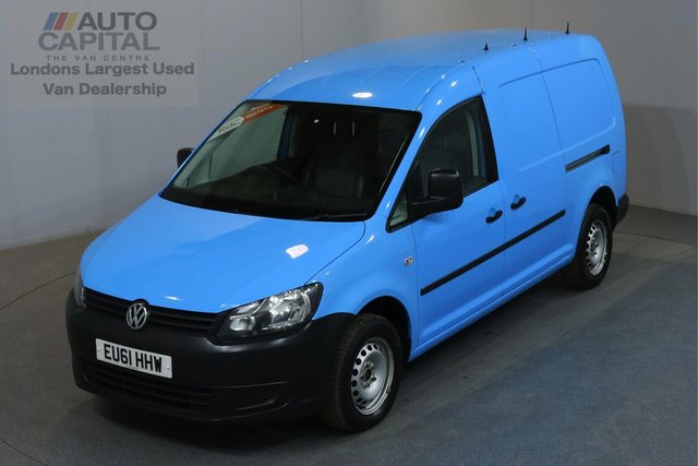 2011 61 VOLKSWAGEN CADDY MAXI 1.6 C20 TDI AUTO AIR CON PARKING SENSORS REAR PARKING SENSORS, REAR SHELVES FITTED