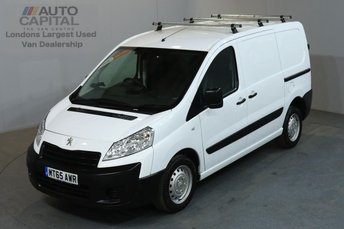 2015 PEUGEOT EXPERT 1.6 HDI 1000 PROFESSIONAL L1 H1 SWB LOW ROOF AIR CON £8990.00