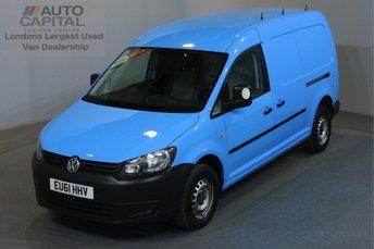 2011 VOLKSWAGEN CADDY MAXI 1.6 C20 TDI AUTO AIR CON PARKING SENSORS £7990.00