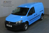 USED 2011 61 VOLKSWAGEN CADDY MAXI 1.6 C20 TDI AUTO AIR CON PARKING SENSORS ONE OWNER, SERVICE HISTORY