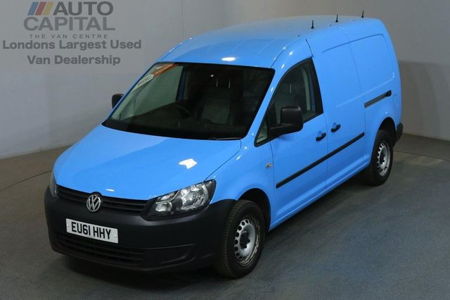 2011 61 VOLKSWAGEN CADDY MAXI 1.6 C20 TDI 5d AUTO 101 BHP LWB AIR CON FWD VAN AIR CONDITIONING / AUTOMATIC GEARBOX