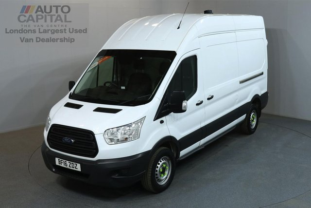 2016 16 FORD TRANSIT 2.2 350 124 BHP L3 H3 LWB HIGH ROOF REVERSE CAMERA ON-BOARD AXLE LOAD INDICATOR