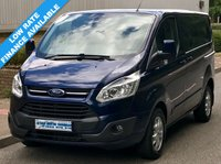 USED 2014 14 FORD TRANSIT CUSTOM LIMITED L1H1 290 SWB LOW ROOF 2.2 125BHP 6 SPEED 2 Owners, Service History