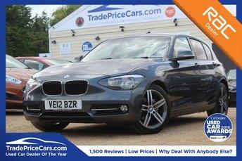 2012 BMW 1 SERIES 1.6 116I SPORT 5d 135 BHP £8750.00