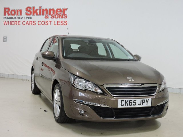 View our 2015 65 PEUGEOT 308 1.6 BLUE HDI S/S ACTIVE 5d 120 BHP