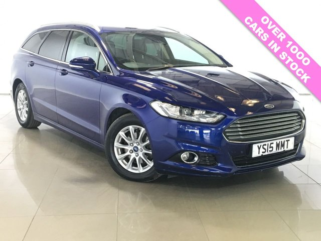 View our 2015 15 FORD MONDEO 2.0 TITANIUM ECONETIC NAV TDCI 5d 148 BHP