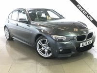 USED 2014 14 BMW 3 SERIES 2.0 318D M SPORT 4d AUTO 141 BHP Sat Nav/Black Leather/Air Con