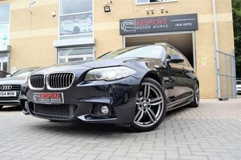 2013 BMW 5 SERIES 520D 2.0 M SPORT TOURING AUTOMATIC  £16250.00