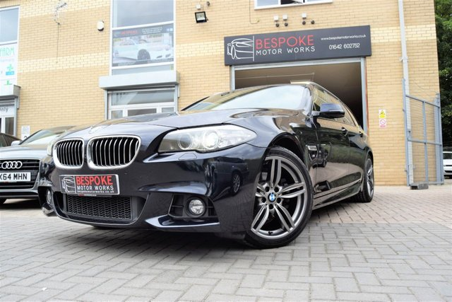 2013 63 BMW 5 SERIES 520D 2.0 M SPORT TOURING AUTOMATIC