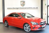 USED 2016 66 MERCEDES-BENZ CLA 2.1 CLA 220 D SPORT 4DR AUTO 174 BHP with manufactures warranty  + 1 OWNER FROM NEW + BLUETOOTH + CRUISE CONTROL + SPORT SEATS +  ACTIVE PARK ASSIST + DAB RADIO + 18 INCH ALLOY WHEELS +