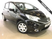 USED 2014 14 NISSAN NOTE 1.5 DCI VISIA 5d 90 BHP 1 Owner/Bluetooth/Air Con