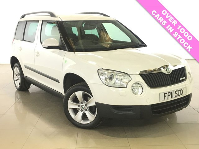 View our 2011 11 SKODA YETI 1.6 ELEGANCE GREENLINE II TDI CR 5d 103 BHP