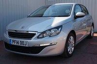 2014 PEUGEOT 308 1.6 HDI ACTIVE 5d 92 BHP £6995.00