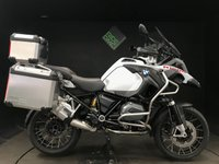 2016 BMW R1200GS ADVENTURE TE. 2016. FULL LUGGAGE. 18K. GEARSHIFT PRO £12750.00