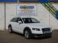 USED 2011 60 AUDI A4 ALLROAD 2.0 ALLROAD TDI QUATTRO 5d 168 BHP All AUDI History New Cambelt 0% Deposit Finance Available