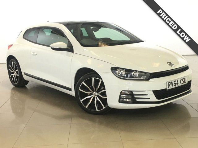 View our 2014 64 VOLKSWAGEN SCIROCCO 2.0 GT TDI BLUEMOTION TECHNOLOGY DSG 2d AUTO 150 BHP