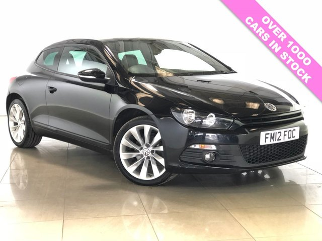 View our 2012 12 VOLKSWAGEN SCIROCCO 2.0 GT TDI BLUEMOTION TECHNOLOGY 2d 140 BHP