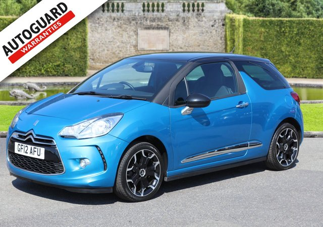 2012 12 CITROEN DS3 1.6 DSTYLE PLUS 3d 120 BHP