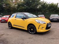 2012 CITROEN DS3 1.6  DSTYLE+ WITH FULL SERVICE HISTORY  £6000.00