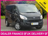 USED 2017 66 FORD TRANSIT CUSTOM 2.2 TDCI LIMITED 125 270 L1H1 PANEL VAN AIR CON 3 SEATS AIR CON BLUETOOTH DAB SIDE LOAD DOOR