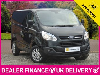 2017 FORD TRANSIT CUSTOM 2.2 TDCI LIMITED 125 270 L1H1 PANEL VAN AIR CON £13650.00
