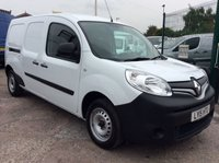 USED 2015 15 RENAULT KANGOO MAXI 1.5 LL21 CORE DCI 90 BHP 1 OWNER FSH NEW MOT FREE 6 MONTH AA WARRANTY INCLUDING RECOVERY AND ASSIST NEW MOT TWIN SIDE LOADING DOORS ELECTRIC WINDOWS AND MIRRORS BLUETOOTH ECO MODEL