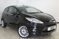 USED 2011 11 FORD FIESTA 1.4 TITANIUM 3DR 96 BHP SERVICE HISTORY + BLUETOOTH + MULTI FUNCTION WHEEL + CLIMATE CONTROL + RADIO/CD + 16 INCH ALLOY WHEELS
