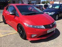 USED 2009 59 HONDA CIVIC 2.0 I-VTEC TYPE-R GT 3d 198 BHP LOW LOW LOW PRICED EXAMPLE
