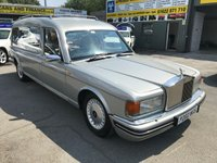 USED 1996 P ROLLS-ROYCE SILVER SPUR 6.8 V8 TURBO 4d AUTO 300 BHP HEARSE IN SILVER WITH 125000 MILES  APPROVED CARS ARE PLEASED TO OFFER THIS ROLLS-ROYCE SILVER SPUR 6.8 V8 TURBO 3 DOOR AUTO 300 BHP HEARSE IN SILVER WITH 125000 MILES AND A EXTENSIVE SERVICE,THIS VEHICLE IS A ONE OFF IN SILVER AND IN GREAT SHAPE BUT DUE TO ITS AGE AND MILEAGE IS BEING OFFERD AS A TRADE CLEARANCE CAR WITH MOT.(WE ALSO HAVE THREE SIX DOOR ROLLS ROYCE LIMOS AVAILABLE SEE OUR WEB SITE FOR MORE DETAILS AND SPECS)Opening hours are 9.00am – 6.00pm Mon to Sat and 10.30am-5pm Sun. We also have an after hours sales mobile