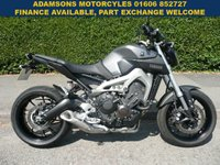 USED 2014 14 YAMAHA MT 0.8 MT - 09 1d  As New,1 Owner,Only 1,200 Miles,New Mot,R&G Tail Tidy,Sports Screen