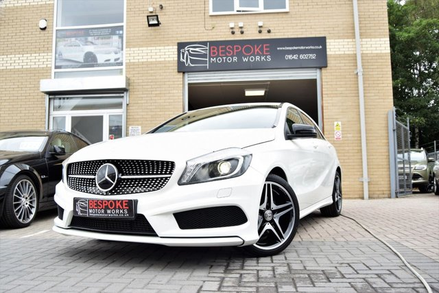 USED 2015 15 MERCEDES-BENZ A CLASS A180 1.5 CDI AMG NIGHT EDITION 5 DOOR