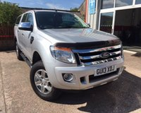 USED 2013 13 FORD RANGER 2.2 LIMITED 4X4 DCB TDCI 1d 148 BHP FULL LEATHER TRIM