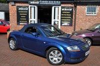 2004 AUDI TT 1.8 ROADSTER 2d 148 BHP £2995.00