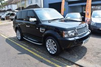 USED 2009 09 LAND ROVER RANGE ROVER SPORT 2.7 TDV6 SPORT HSE 5d AUTO 188 BHP COMES WITH 6 MONTHS WARRANTY