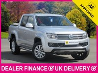 USED 2012 61 VOLKSWAGEN AMAROK 2.0 BITDI HIGHLINE 4MOTION WITH HARDTOP NAV LEATHER SAT NAV LEATHER CANOPY BLUETOOTH AIR CON