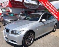 2007 BMW 3 SERIES 3.0 330D M SPORT 5d AUTO 228 BHP £6995.00