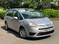 USED 2009 09 CITROEN C4 GRAND PICASSO 1.6 SX 16V 5d 120 BHP