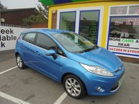 USED 2010 59 FORD FIESTA 1.4 TDCI ZETEC 5 DR £0 DEPOSIT FINANCE DEAL AVAILABLE....CALL TODAY ON 01543 877320