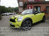 2009 MINI CONVERTIBLE 1.6 COOPER S 2d 175 BHP £SOLD