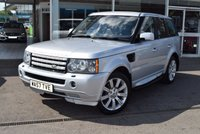 USED 2007 57 LAND ROVER RANGE ROVER SPORT 2.7 TDV6 SPORT S 5d 188 BHP Full Service history 10 stamps