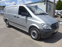 USED 2015 15 MERCEDES-BENZ VITO 113 CDI LWB, 136 BHP [EURO 5], AIR CON, 1 COMPANY OWNER