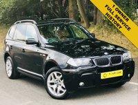 2007 BMW X3 2.0 D M SPORT 5d 175 BHP £8000.00