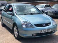 2003 HONDA CIVIC 2.0 TYPE-S 5dr 160 BHP £1250.00